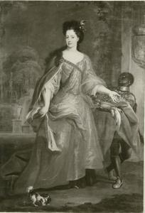Portret van Anna Maria Luisa de' Medici, keurvorstin van de Palts (1667-1743)