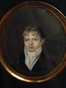 Portret van een jonge man uit de familie Van Loon, mogelijk Willem van Loon (1794-1847)