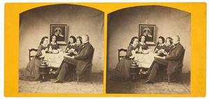 Portret van familie van der Meulen