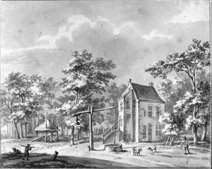 Het huis Prattenburg bij Rhenen
