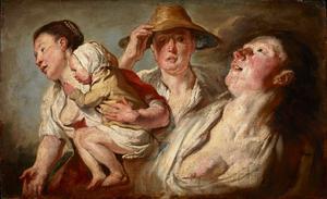 Studies van drie vrouwen en een kind