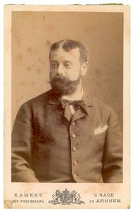 Portret van Frederik Adriaan Petrus Wittert van Hoogland (1840-1922)