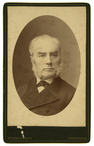 Portret van Arnoldus Conradus Boursse (1862-1932)