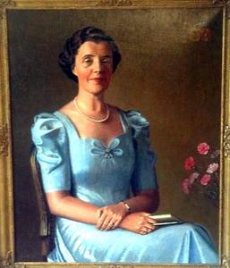 Portret van Maria Johanna van Bruggen (1891-....)