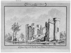 Ruïne van kasteel Heenvliet (ook wel Ravestein) bij Spijkenisse