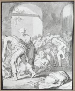 Kreupelen bij het bad van Betesda (Johannes 5:1-15)