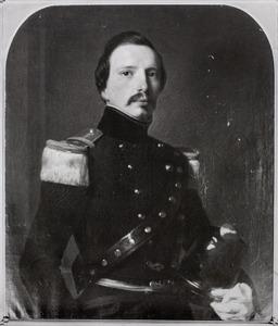 Portret van Constant Gauttier Catherine Francois Ising (1823-1894)