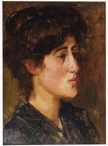 Portret van Juliette van Buuren-Polak (1884-1943)