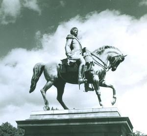 Koning Carl Johan te paard (1763-1844)