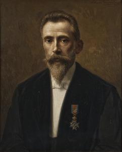 Portret van Richard Hendrik van Dorsten (1860-1917)