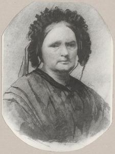 Portret van Agatha Schijff (1793-1865)