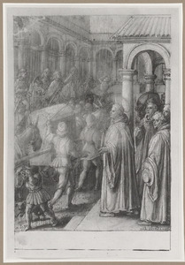 De H. Giovanni Gualberto en het wonderbaarlijke noodweer in het klooster van Moscheta