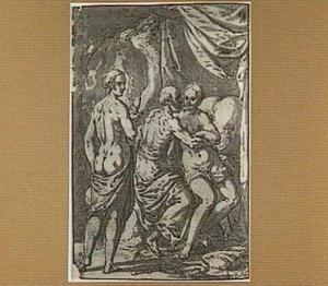 Lot heeft sexuele omgang met zijn dochters (Genesis 19:30-38)