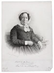 Portret van een vrouw, mogelijk Jkvr. Cornelie Eugénie Augustine van der Brugghen (1809-1872)