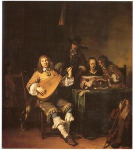 Musicerend gezelschap