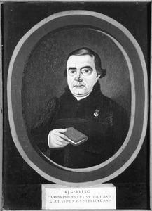Portret van Bernardus Josef Gerving (1782-1842)