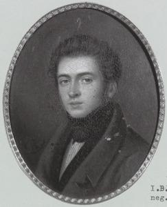 Portret van Jan Willem Cornelis Baron van Ittersum (1803-1880)