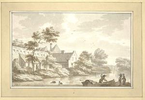 Zutphen, gezicht buiten de wallen 1785