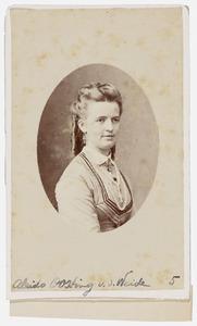Portret van Lamberta Anna Aleida van der Weide (1845-1873)