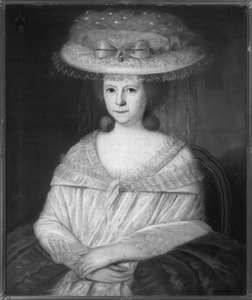 Portret van Juliana Philippina van Leefdael (1733-1812)