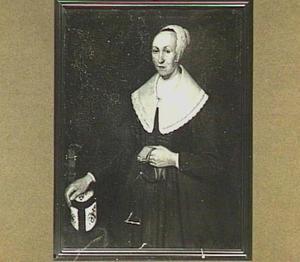 Portret van Maria de Lannoy (....-1681)