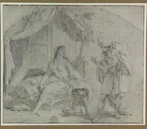 Jozef verleid door de vrouw van Potifar (Genesis 39:9)
