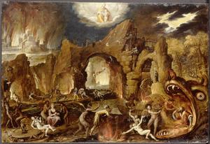 De bestraffing der zonden in de hel