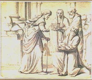 De opdracht in de tempel (Simeon en Anna) (Lucas 2:22-40)