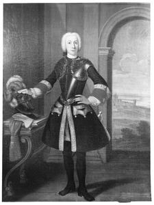 Portret van Jan Nicolaas Verschoor (1715-1749)