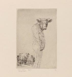 Staande minotaurus