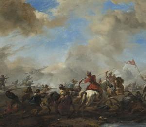 Slag tussen Europeanen en oosterlingen