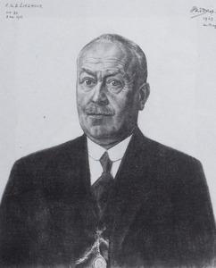 Portret van Emanuel Gerhardus Diedericus Lieshout (1873-1949)