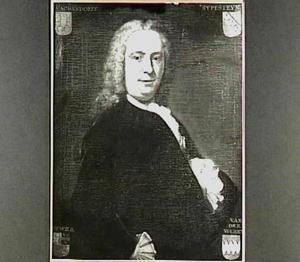 Portret van Evert van Wachendorff (1712-1775)