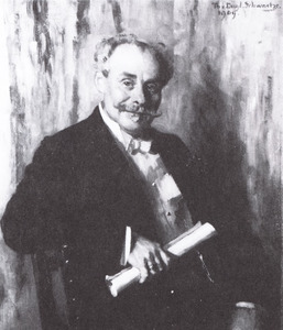 Portret van Ernst Jean Joseph Bachigaloupi Tourniaire (1850-1921)