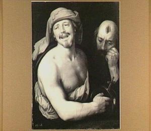 De lachende en de huilende filosofen Democritus en Heraclitus