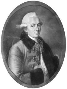 Portret van Johan Adriaan van de Perre (1738-1790)