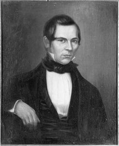 Portret van Henricus Johannes Hageman, echtgenoot van Theresia Derckson