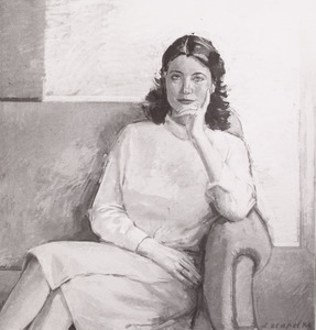 Portret van Willemijn Kreeftenberg