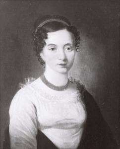Portret van Hendrina Mylius (1786-1840)