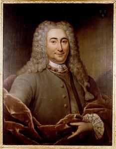 Portret van Petrus van Westervelt (1681-1730)