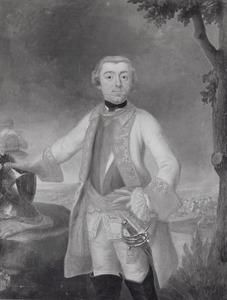 Portret van Johan Reinhard Borchard Rudolf van Rechteren (1725-1783)