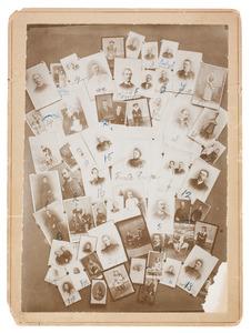 Samengesteld portret van familie Leembruggen