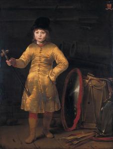 Portret van Otto van der Waeyen ( 1648 -1686) in Pools kostuum