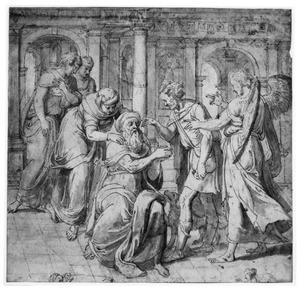 De genezing van de blinde Tobias (Tobias 11:12 e.v.)