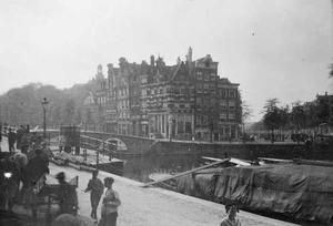Gezicht op de Korte Prinsengracht te Amsterdam