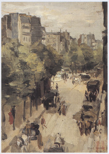 Straat in Parijs