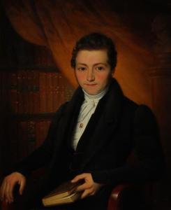 Portret van een man, mogelijk Leonardus Corstiaan Bernet (1809-1863)