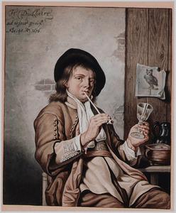 Portret van de schilder Heyman Dullaert (1636-1684)