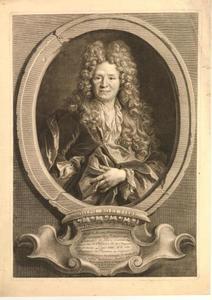 Portret van de medailleur Joseph Roettiers (1635-1703)