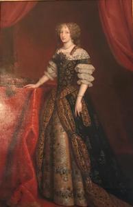 Portret van Eleonora Magdalena Teresie van Pfalz-Neuberg